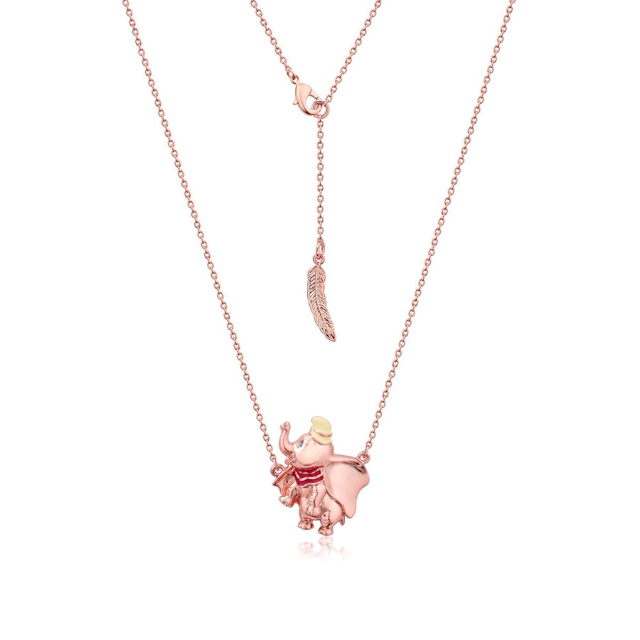【補貨中】Couture Kingdom | Disney Jewellery 迪士尼小飛象馬戲團鍍14K玫瑰金雙項鍊 Dumbo Circus Ball Necklace