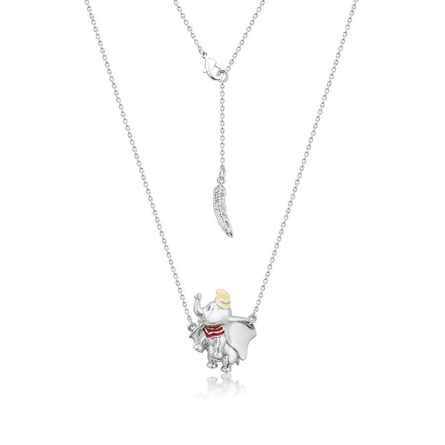 【補貨中】Couture Kingdom | Disney Jewellery 迪士尼小飛象馬戲團鍍14K白金雙項鍊 Dumbo Circus Ball Necklace
