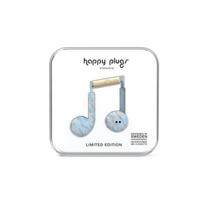 HAPPY PLUGS | Earbud Plus 極致耳塞式耳機-藍石英