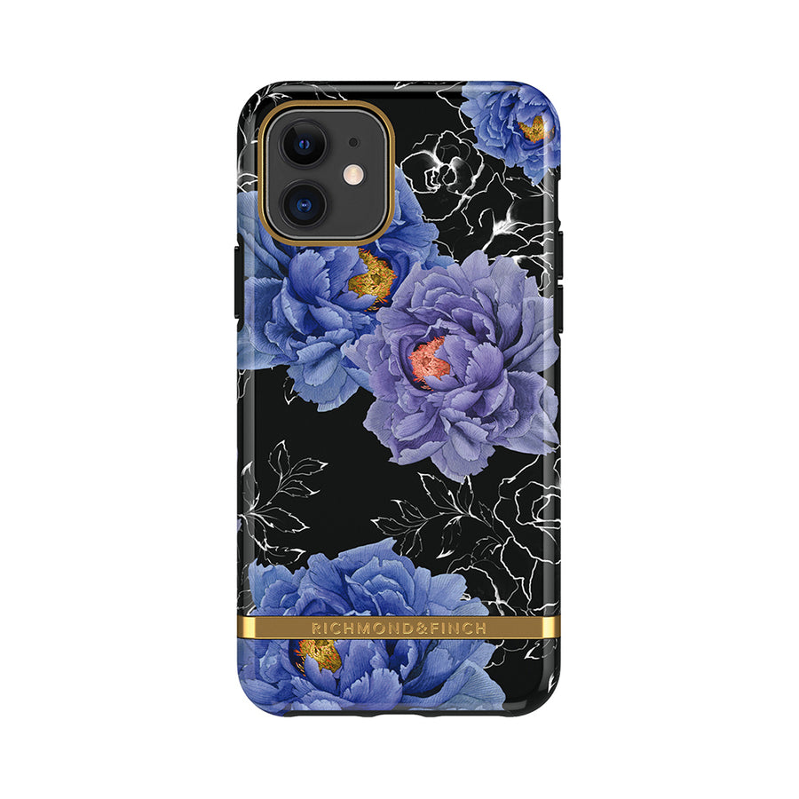 【新品上市-預購12/16出貨】RICHMOND&FINCH | IPHONE 金線框盛開牡丹