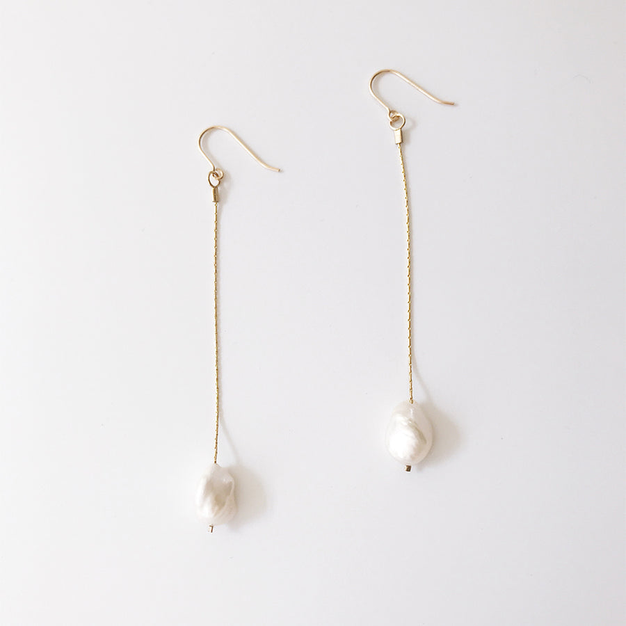 【限時9折】LESIS | Long Chain Earrings