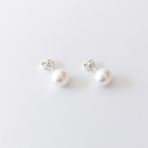 【限時9折】LESIS | Pearl Earrings (Silver)