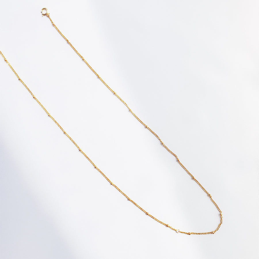 LESIS | Two Layer Golden Bean Anklet