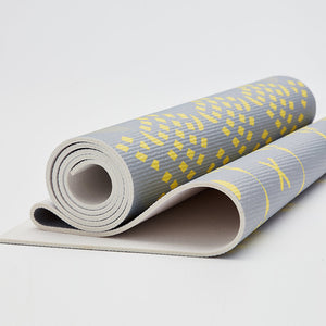 DOUX | YOGA瑜珈墊 Earth-Yellow grey