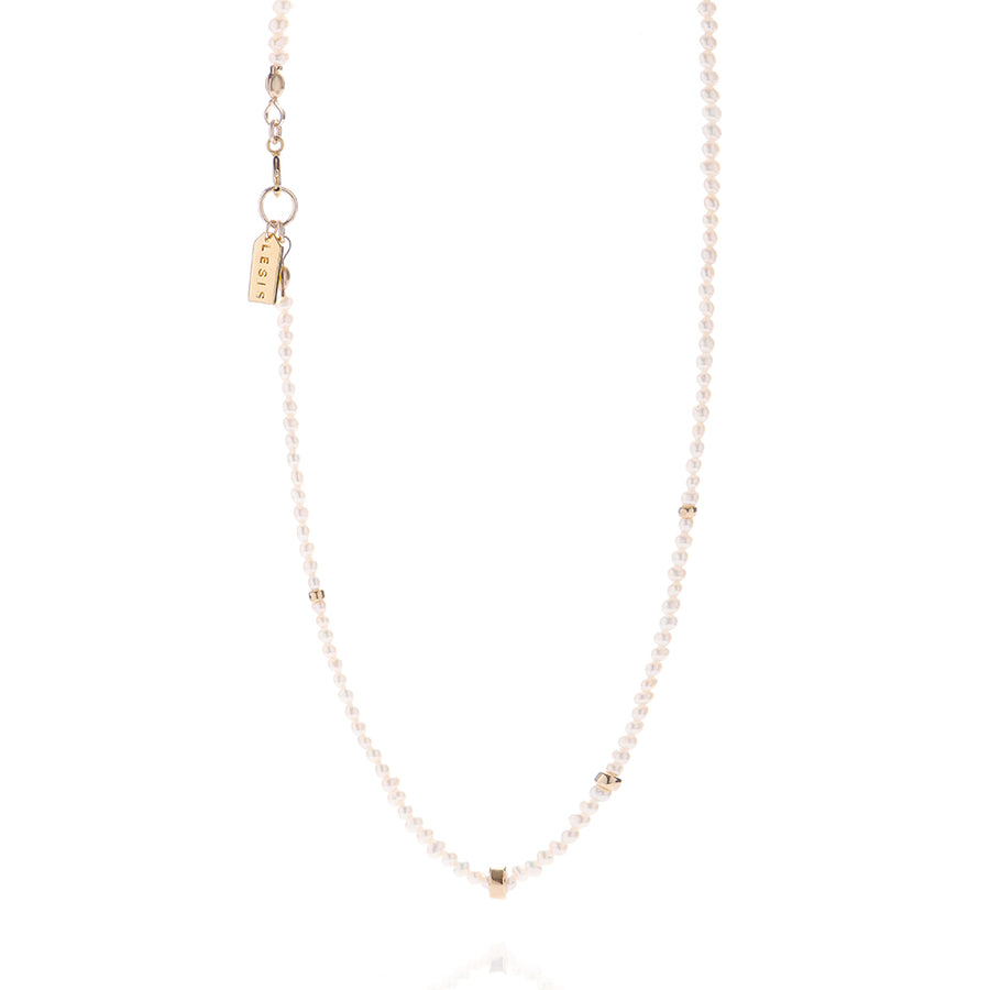 LESIS | Mini Pearl With Golden Bean N