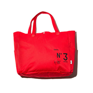 【新品上市】F/CE. | NO3 Big tote 大托特包-紅
