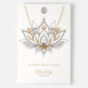 Orelia | SPIRITUAL LOTUS DITSY NECKLACE 煥采荷花項鍊