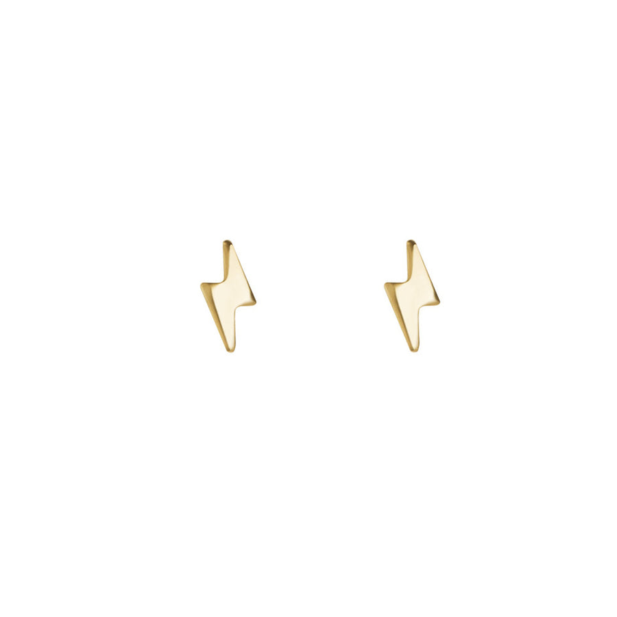 【新品上市】CINCO | 閃電925純銀鍍24K金耳釘 SORA EARRINGS