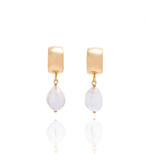 LESIS | Vintage Baroque Pearl Earrings