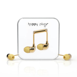 HAPPY PLUGS_In-Ear 入耳式耳機-奢華限定款(金色)