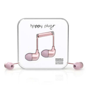 HAPPY PLUGS_In-Ear 入耳式耳機-奢華限定款(粉色金)