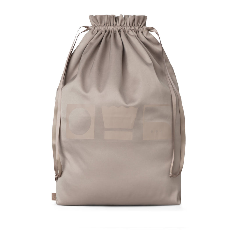 laundry bag for travel brown