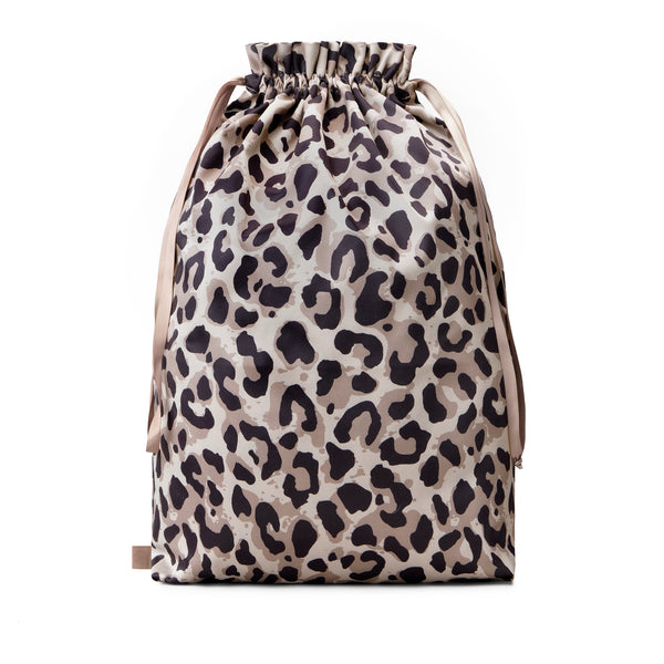 laundry bag in leopard