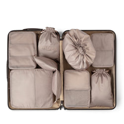 suitcase packing cubes