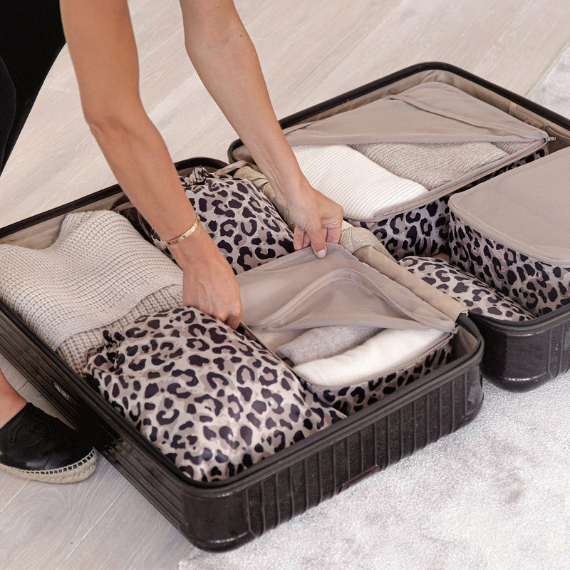 leo packing organizers for suitcase