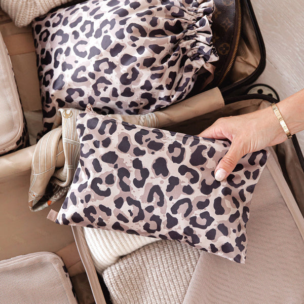 toiletry bag Leopard print