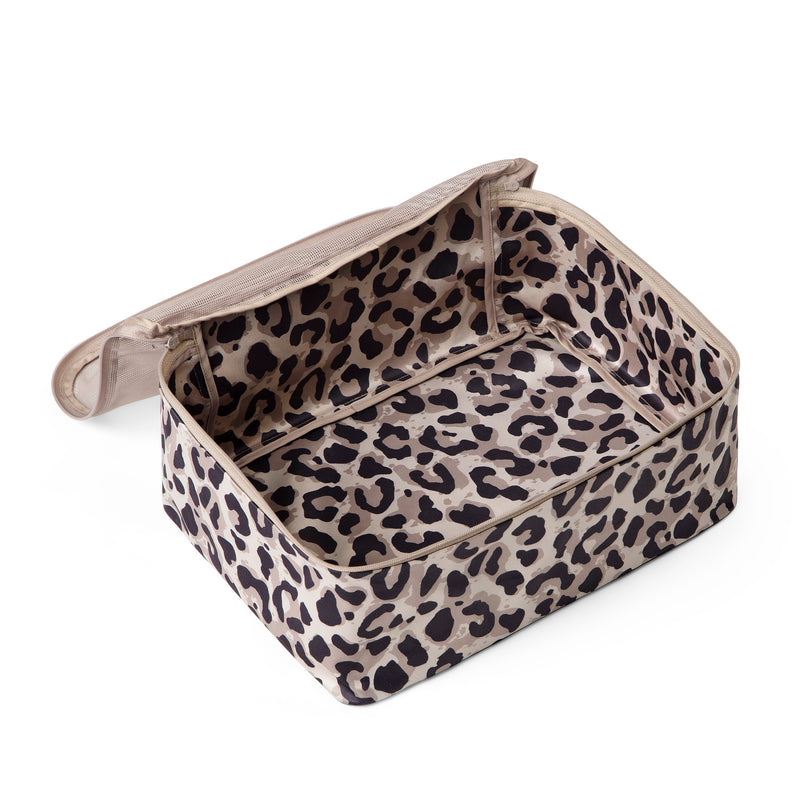 packing cube leopard