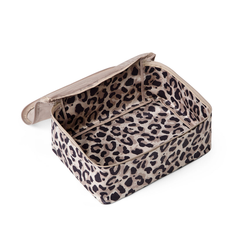 packing cube leopard large