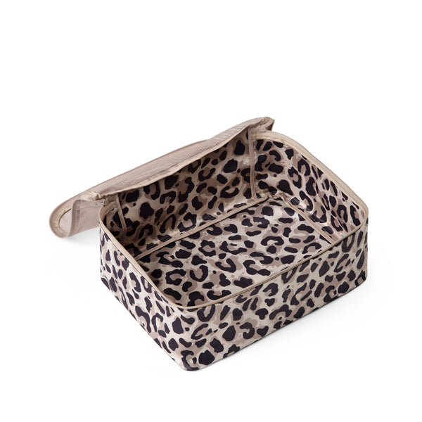 leopard print packing cube