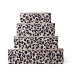leopard print packing cubes