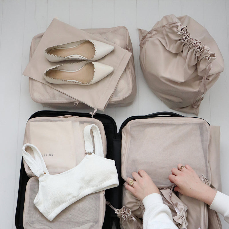 Packing Organizer Set Beige