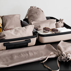 how to pack an organized suitcase