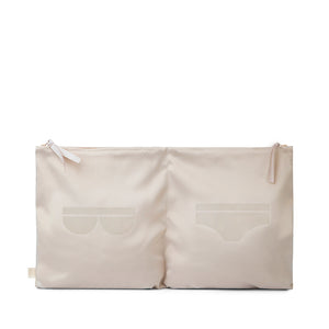 UNDERWEAR TRAVEL BAG BEIGE