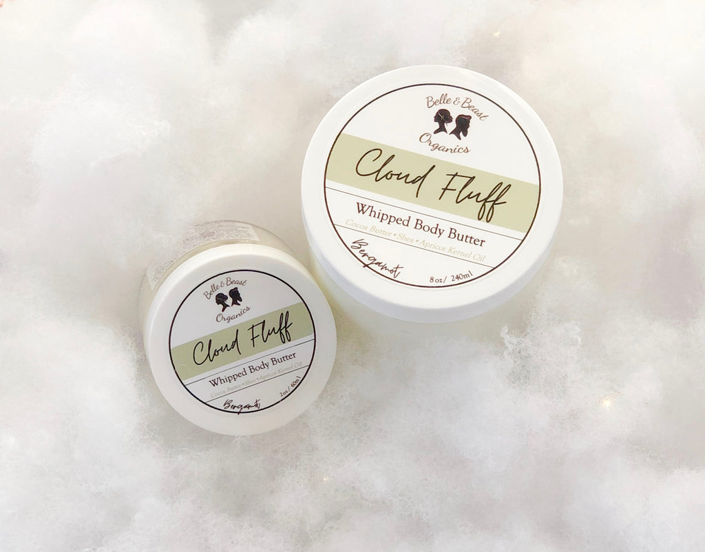 Introducing: CLOUD FLUFF the most Luxurious, Whipped Body Butter you'll ever meet