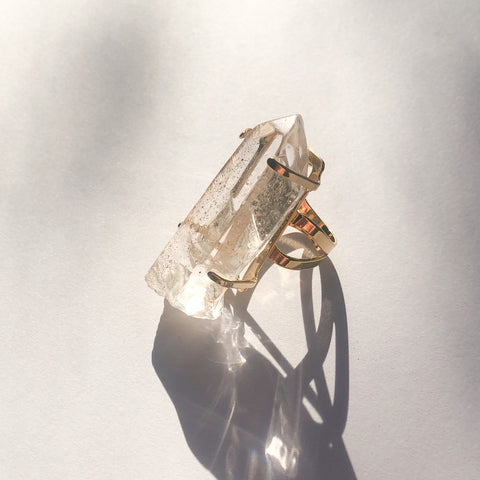 ✨Crystal Point Ring - XL
