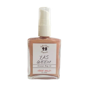 YAS QUEEN - Shimmer Body Oil