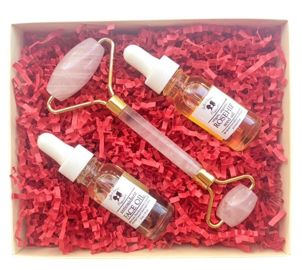Crystal Roller Skincare Bundle