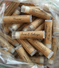 Personalized Handmade Lip Balm | WEDDING FAVORS