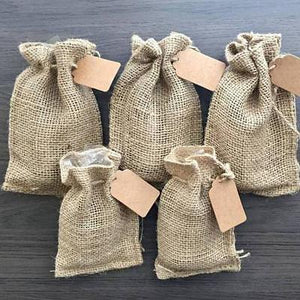 ADD-ON! Burlap Gift Bag + Name Tag for Beard Oil