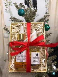 Illuminating Serum + Face Oil Gift set