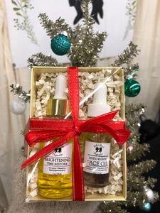 Brightening Serum + Face Oil Gift Set