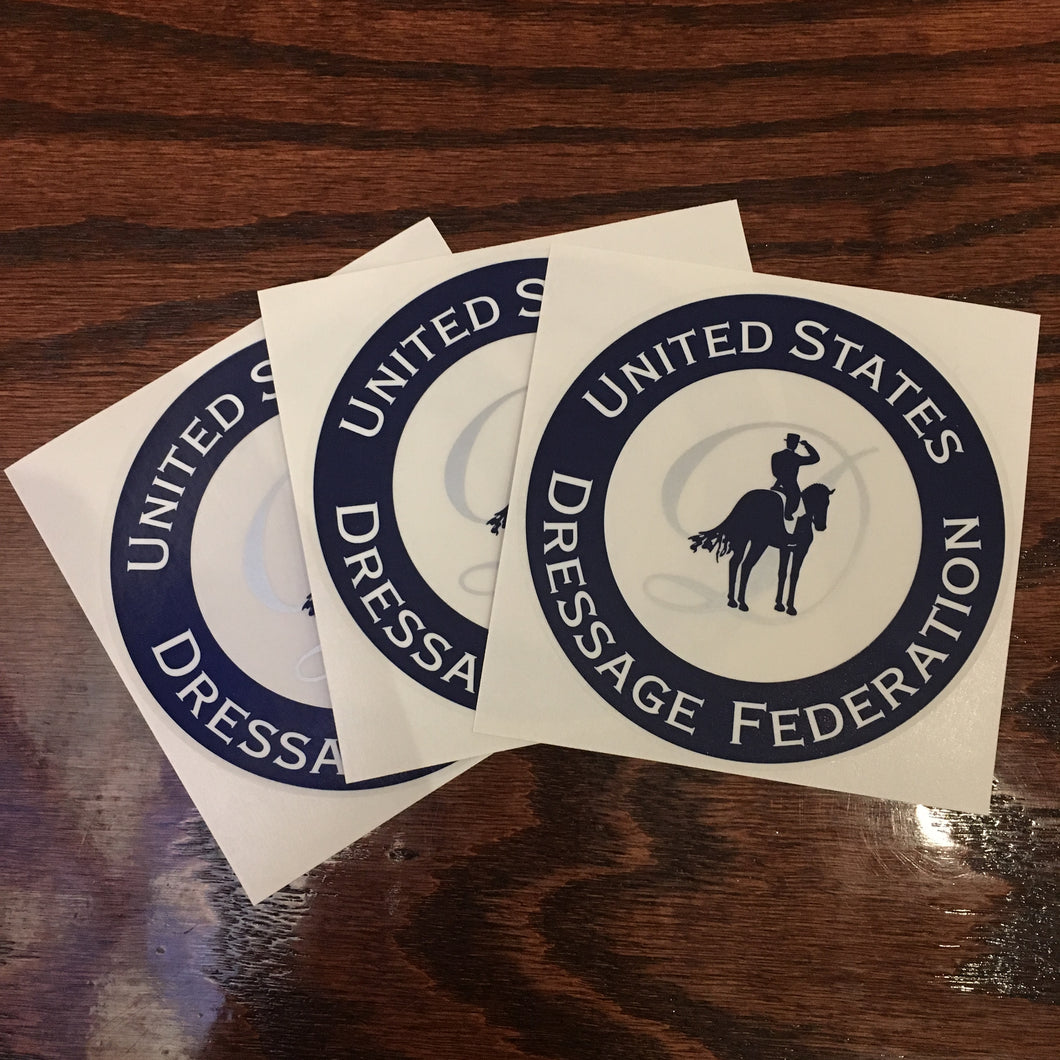 USDF Decal Sticker