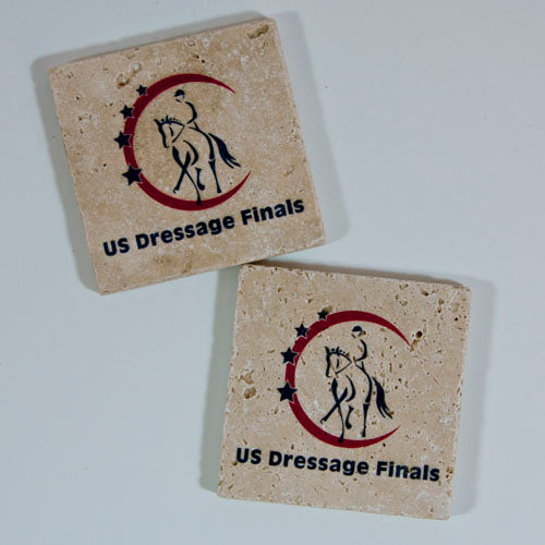 US Dressage Finals Coaster 2 pk