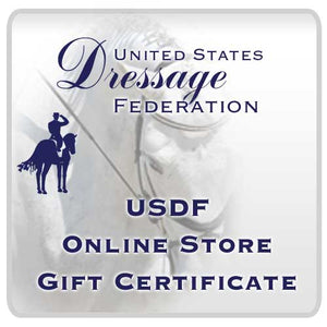 USDF Store Gift Certificate