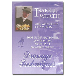 Isabell Werth's Dressage Techniques DVDs