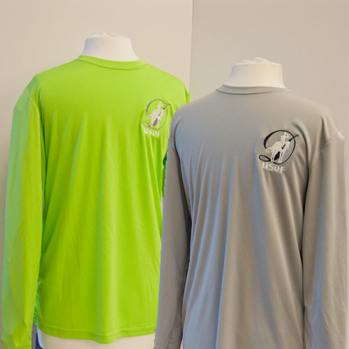 USDF Men's Long Sleeved Athletic Tee