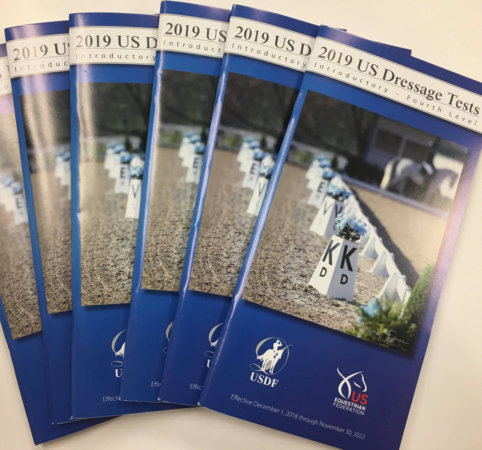 2019 USEF/USDF Dressage Test Booklet