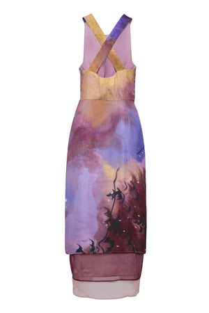 Amethyst Layer Dress