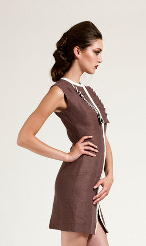 Delaunay Rust Dress