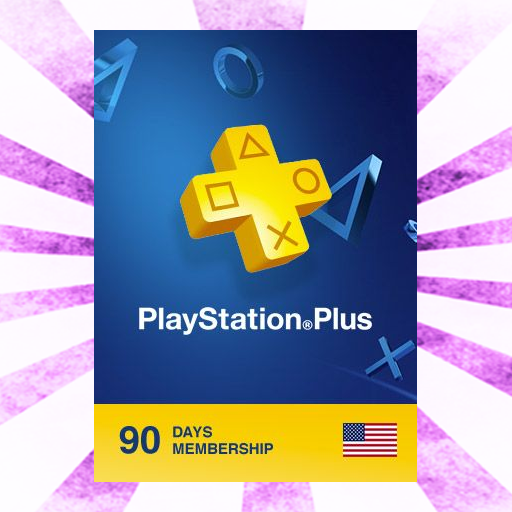 PlayStation Plus 90 Day Subscription (North America)