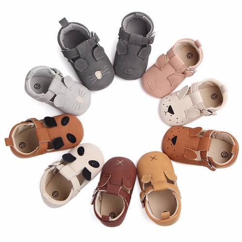 ANIMAL FRIENDS MOCCASINS