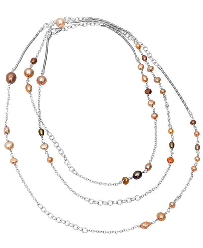 Endless Pearls: autumn tones