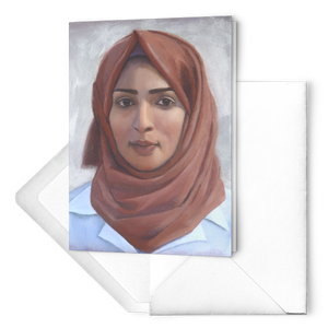 Razan Al-Najjar greeting card set