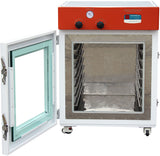 "Across International Elite Series 7.6 Cu Ft 24x24x24"" Vacuum Oven w/ 7 Aluminum Shelves"