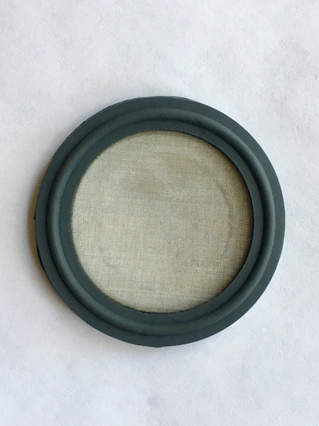 "6"" Tri Clamp 100 Mesh Screen Viton Gasket"