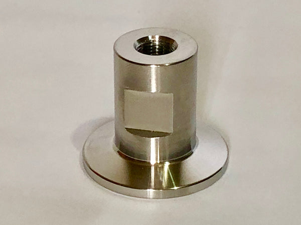 "KF25 Flange x 1/8"" FNPT vacuum adapter NPT thread stainless steel fitting KF-25"